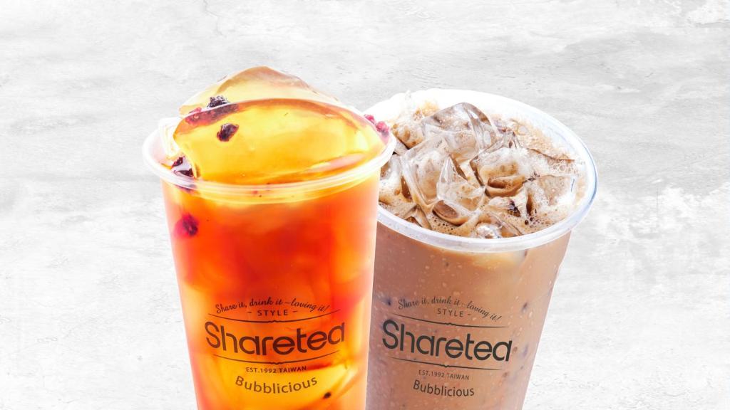 Grabfood deals Sharetea