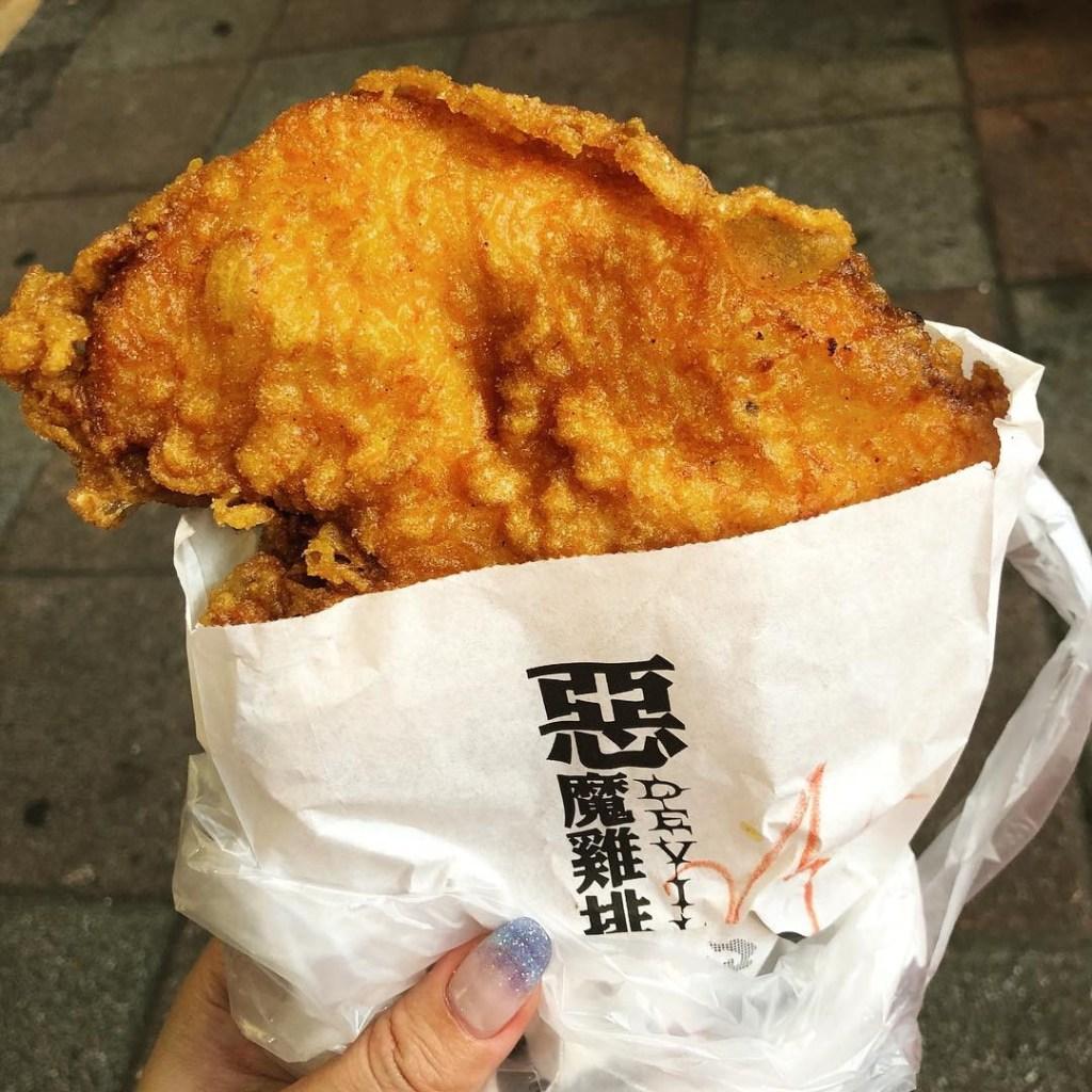 shilin night market singapore- devil chicken