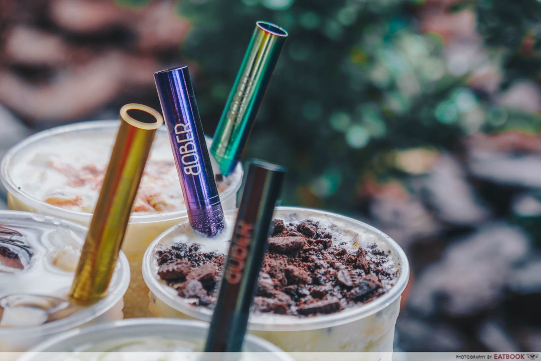 Bober Tea - Free Metal Straws