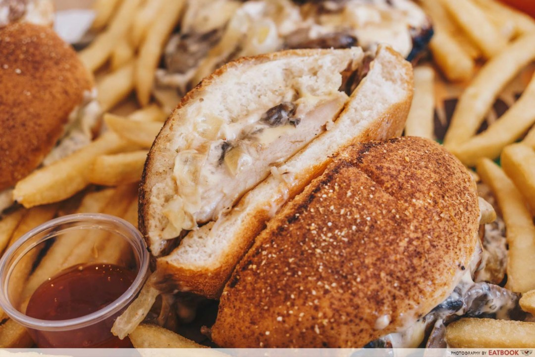 Burger King - Truffle Mayo Tendergrill Chicken Burger