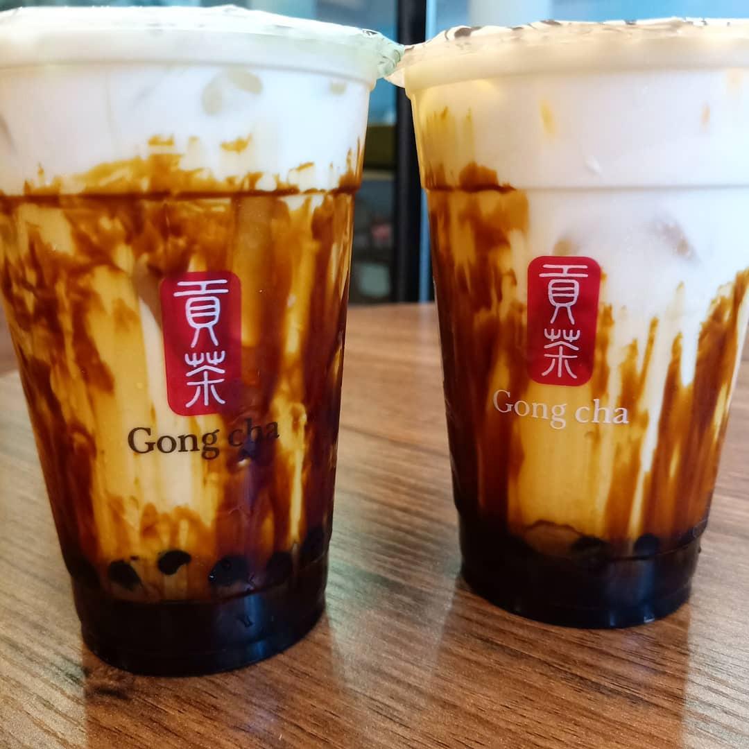 Gong Cha Brown Sugar - Establishment shot