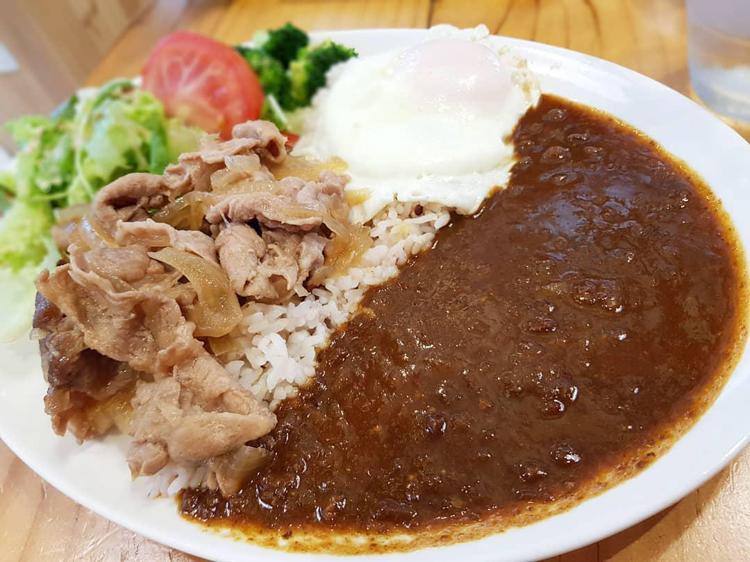 Japanese Curry - Japan Rail Cafe
