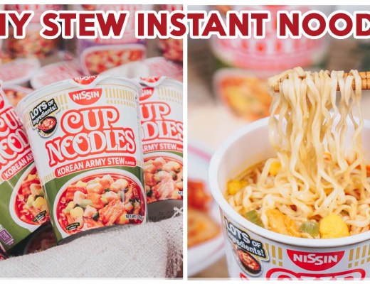 Nissin Korean Army Stew Noodles - Feature Image
