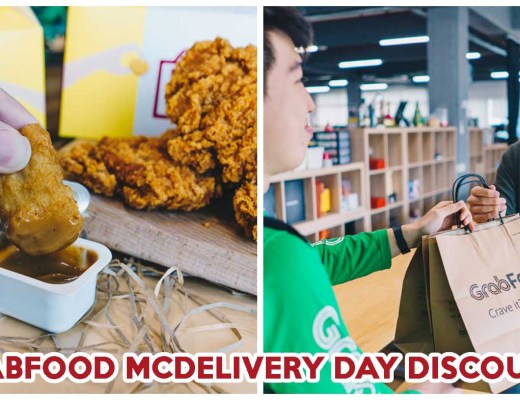 grabfood mcdonalds delivery day