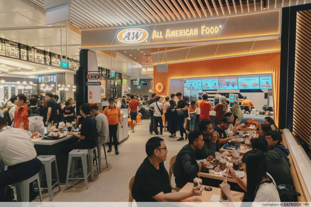 A&W - Storefront