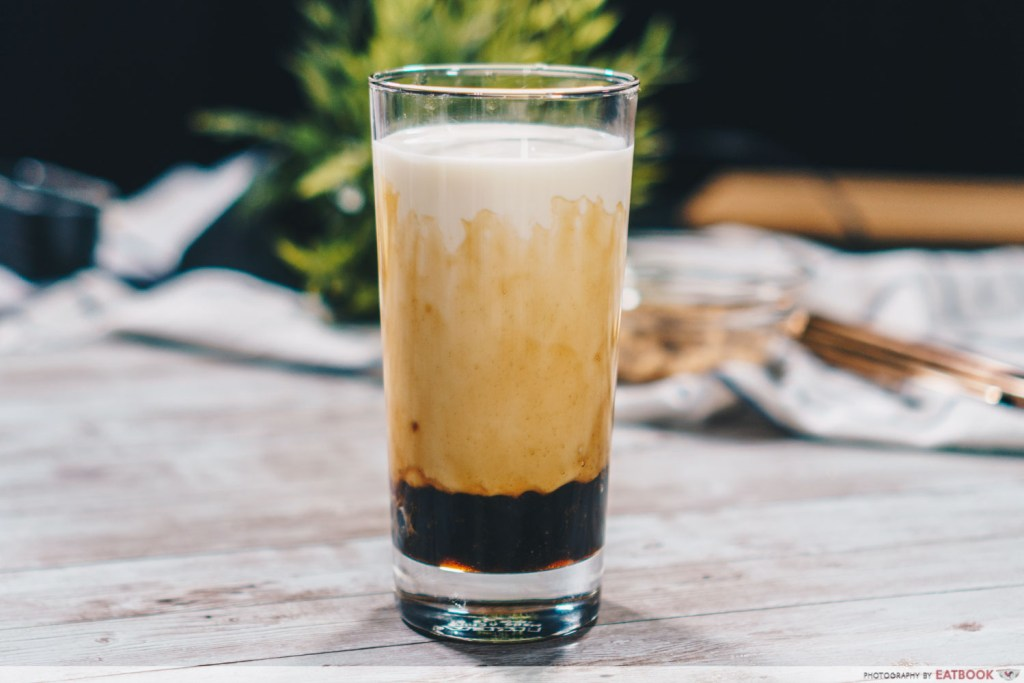 Brown Sugar Fresh Milk Recipe final product