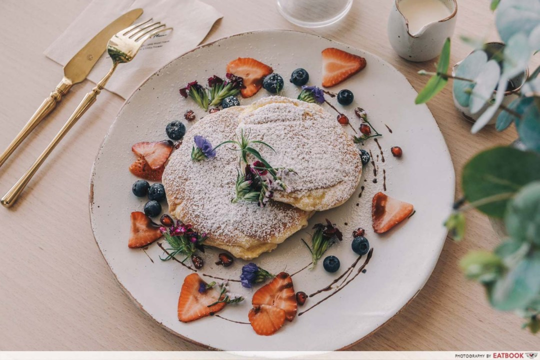Cafe De Nicole's Flower - Souffle Pancake