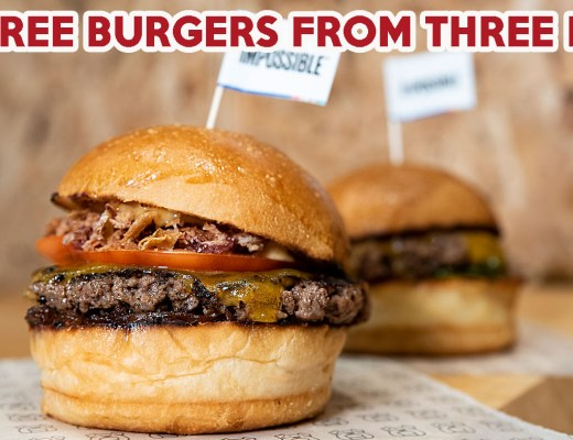 Free Impossible Burger - Cover image get free burgers from three buns