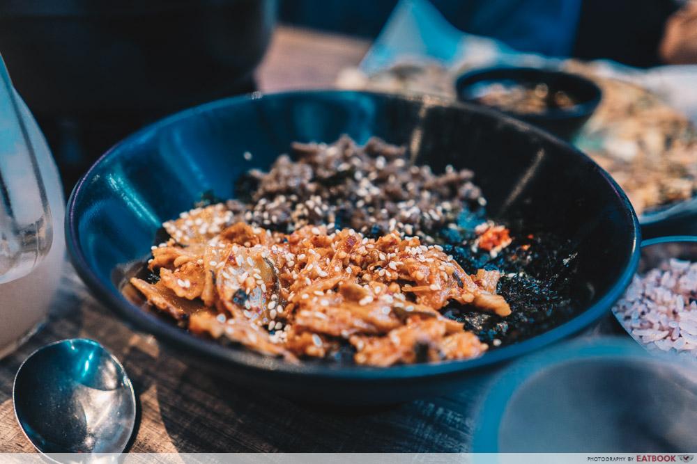 Jurong Korean Restaurant - Massizzim Bulgogi Pork Rice Balls