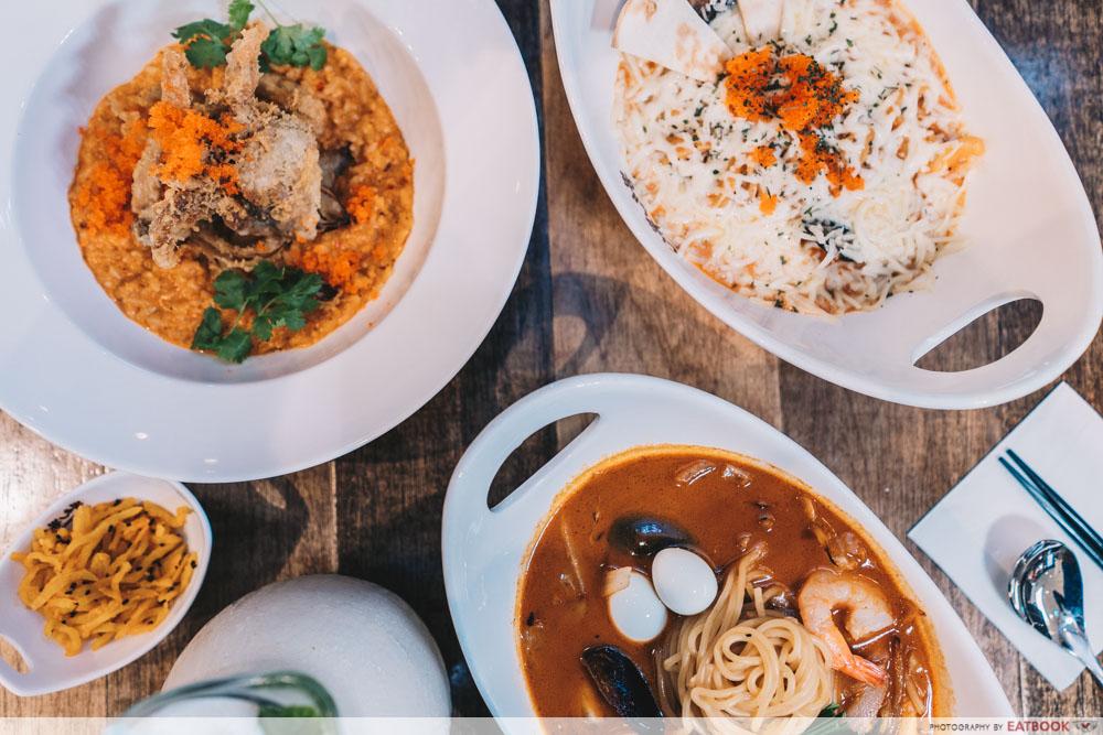 Jurong Korean Restaurant - Nipong Naepong Flatlay