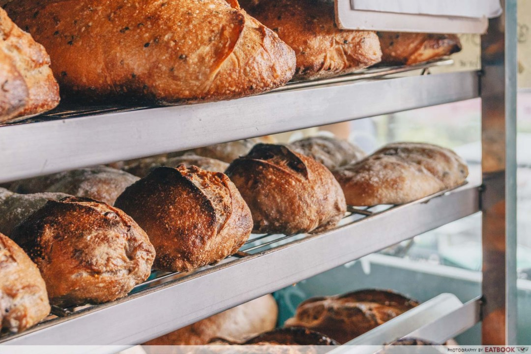 Micro Bakery and Kitchen bread baking