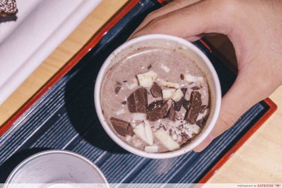 OCD Cafe - Triple Hot Chocolate Closeup