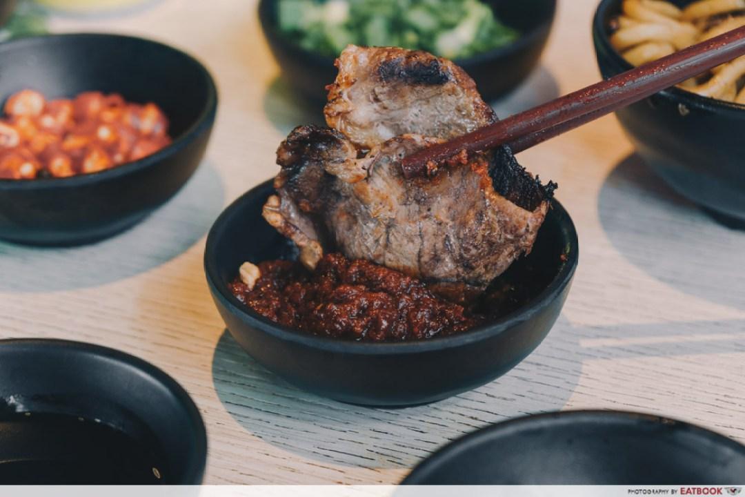 Sedap Mania - sirloin beef in sauce