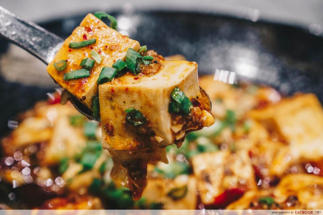 Shang Social - Jewel mapo tofu