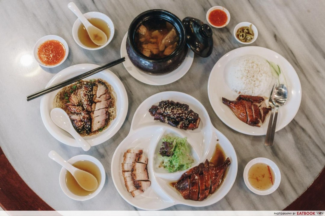 You Kee XO Restaurant - Flatlay