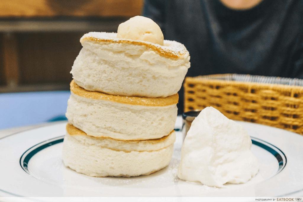 Gong Cha Boba Souffle Pancakes Gram