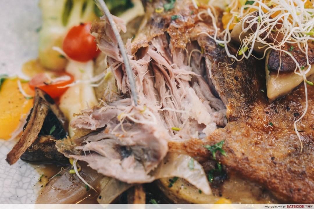 Hunger's Kitchen - duck confit meat