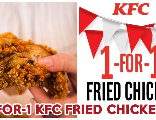 KFC 1-for-1 - Feature Image Draft
