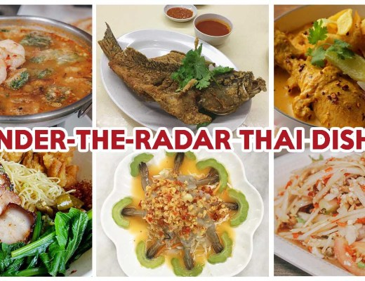 Underrated Thai dishes cover