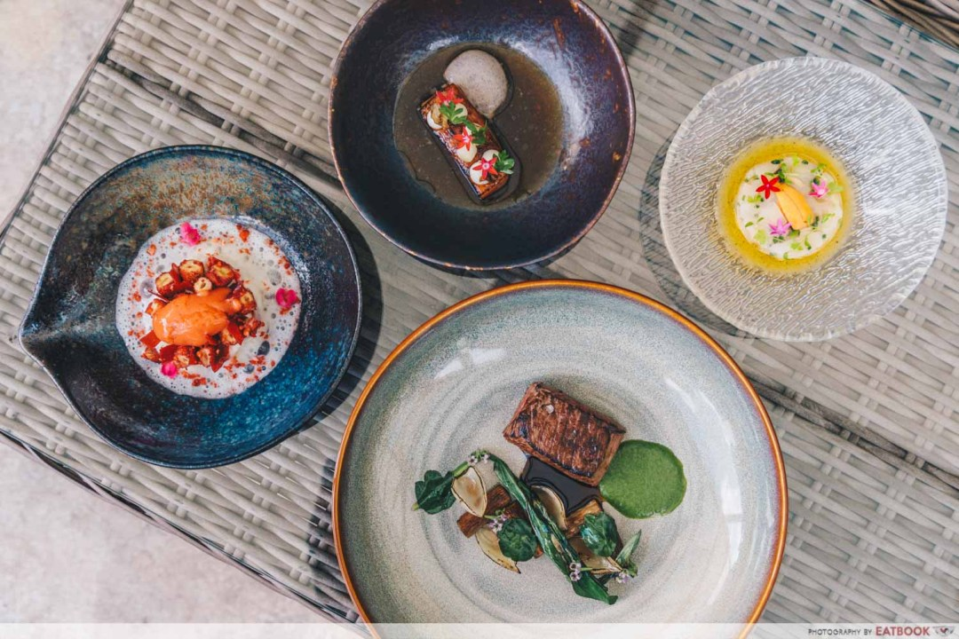 maybank michelin beautiful restaurants alma flatlay