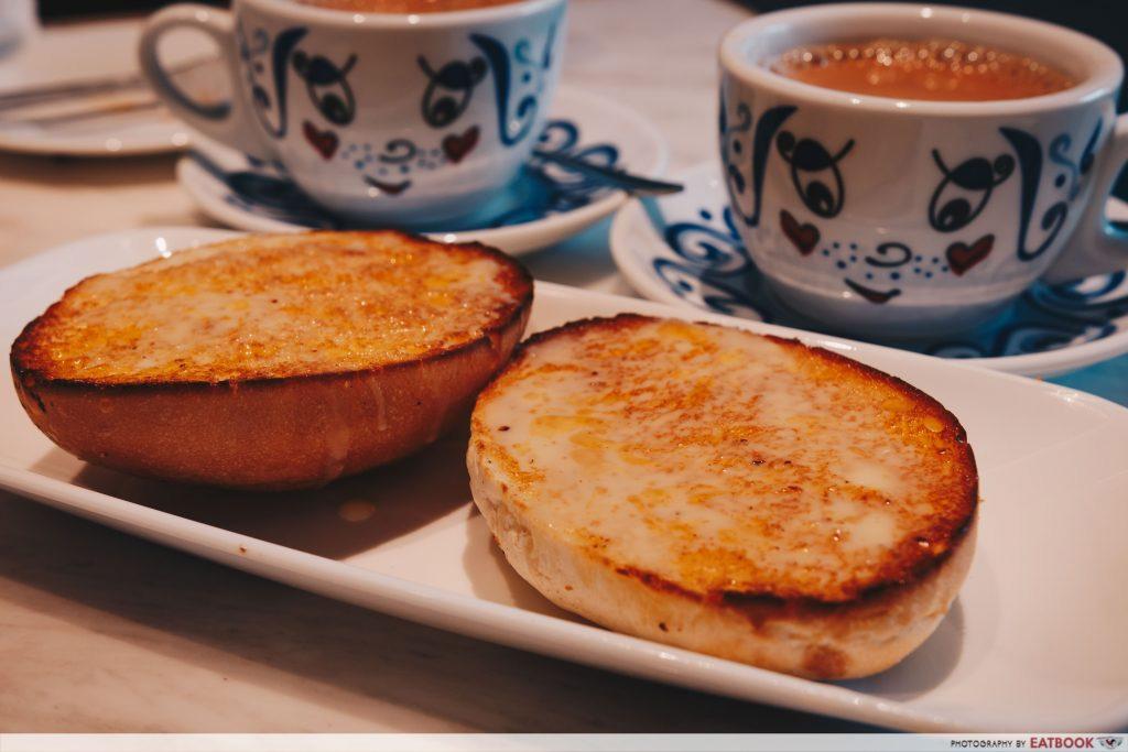 tsui wah orchard crispy bun with condensed milk