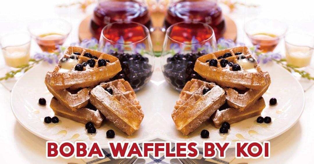 Boba Waffles - Feature Image