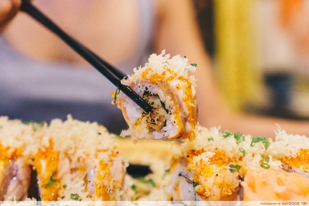 Box n Sticks - Spicy Aburi Seafood Maki