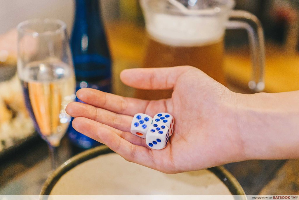 Box n Sticks dice game