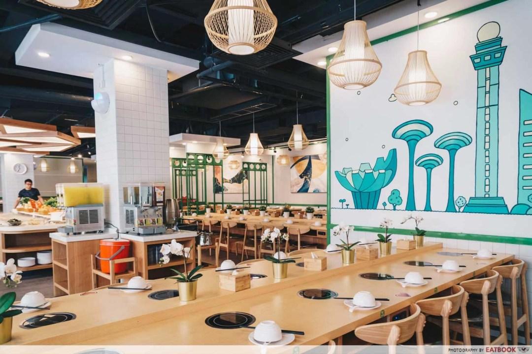 New Restaurant July - Xiao Cai Xiang Steamboat Buffet