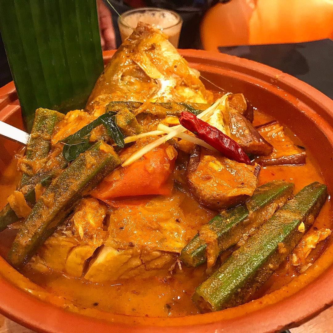 Pavilion Banana Leaf - Clay Pot Fish Head Curry