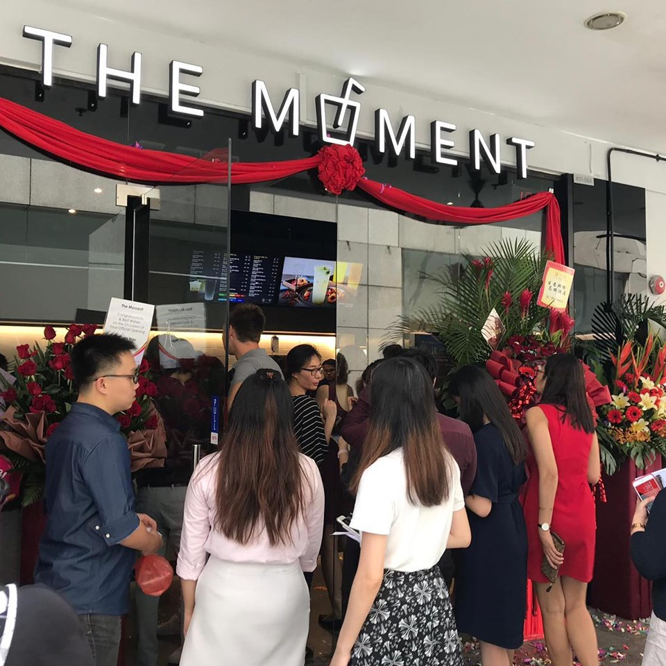 The Moment - Crowd