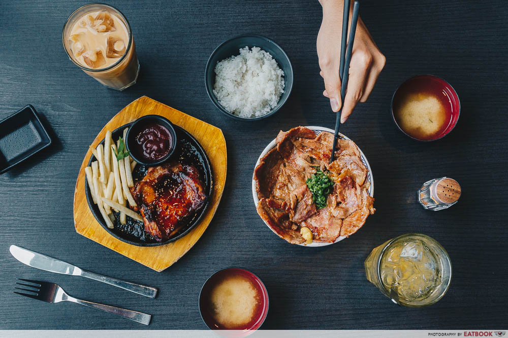 lunch deals in the West WATAMI Japanese dining set