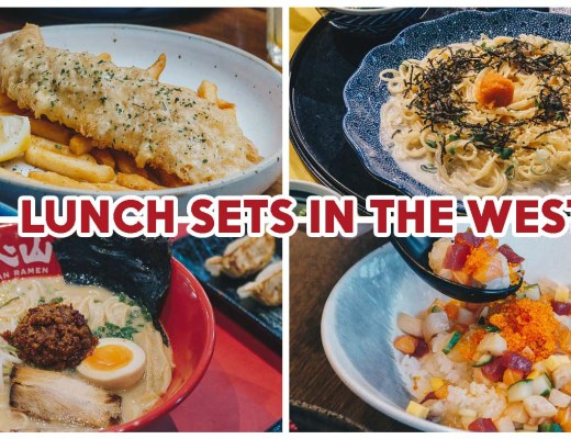 lunch deals in the West