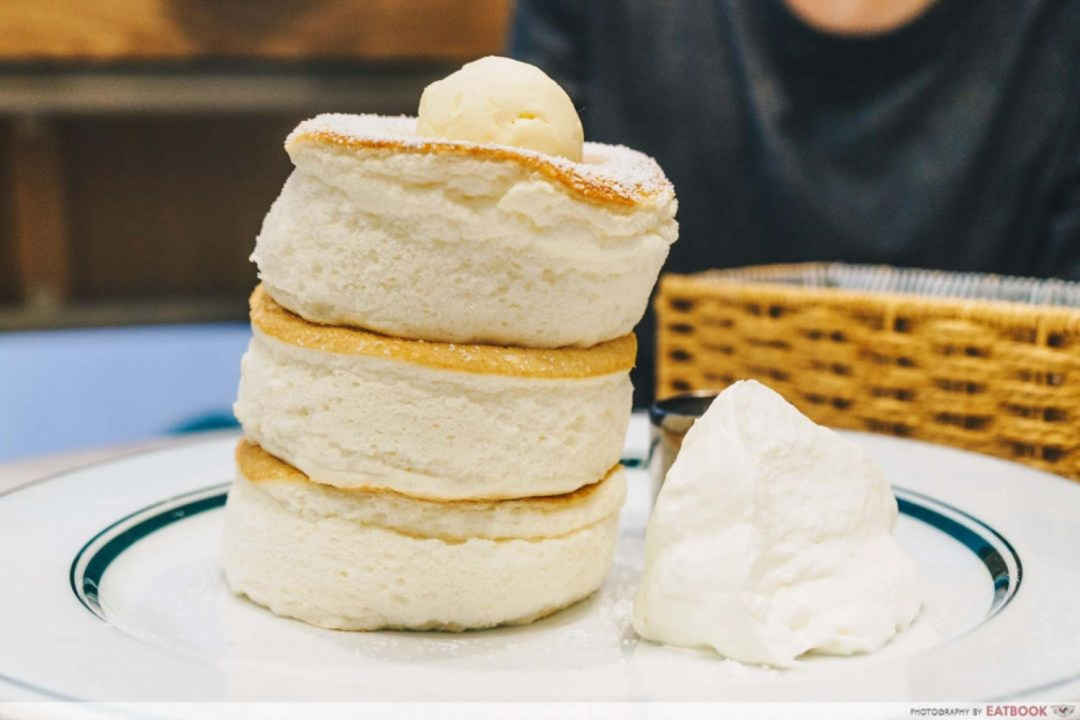 Souffle Pancakes - Gram cafe and pancakes