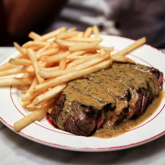 L'Entrecôte The Steak and Fries Bistro