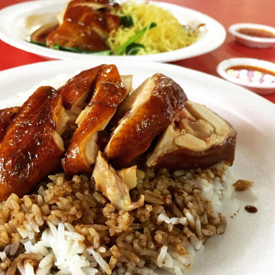 Dishes Under $2 - Soya Sauce Chicken Rice