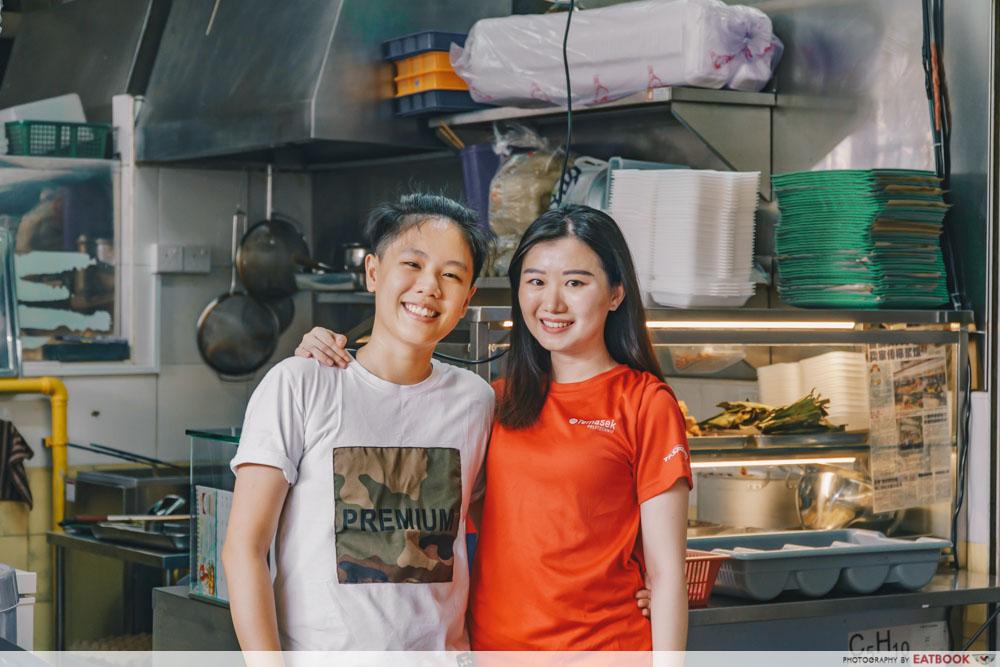 Charlene and Yuting