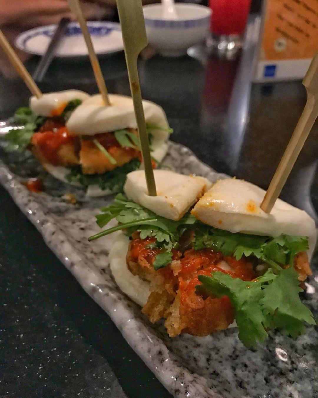 Unique Bao - Pork cracklins bao