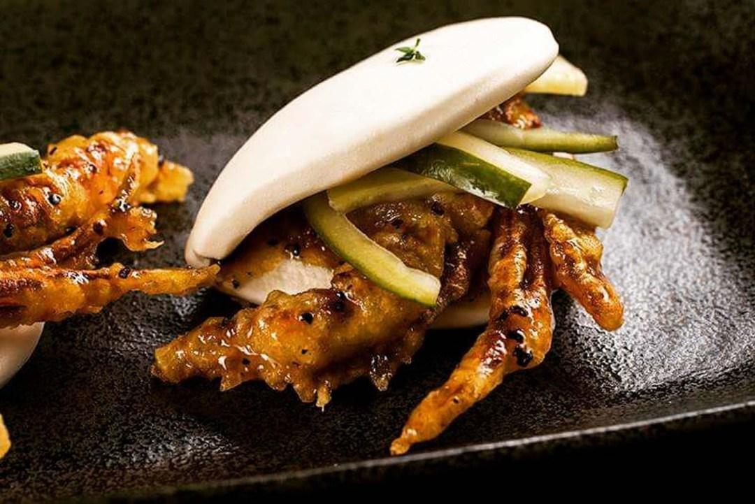 Unique Bao - Soft shell crab bao