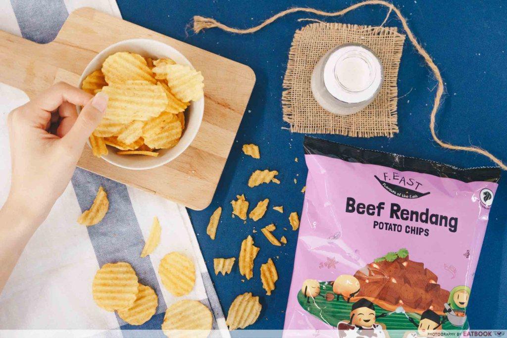 new beef rendang chips