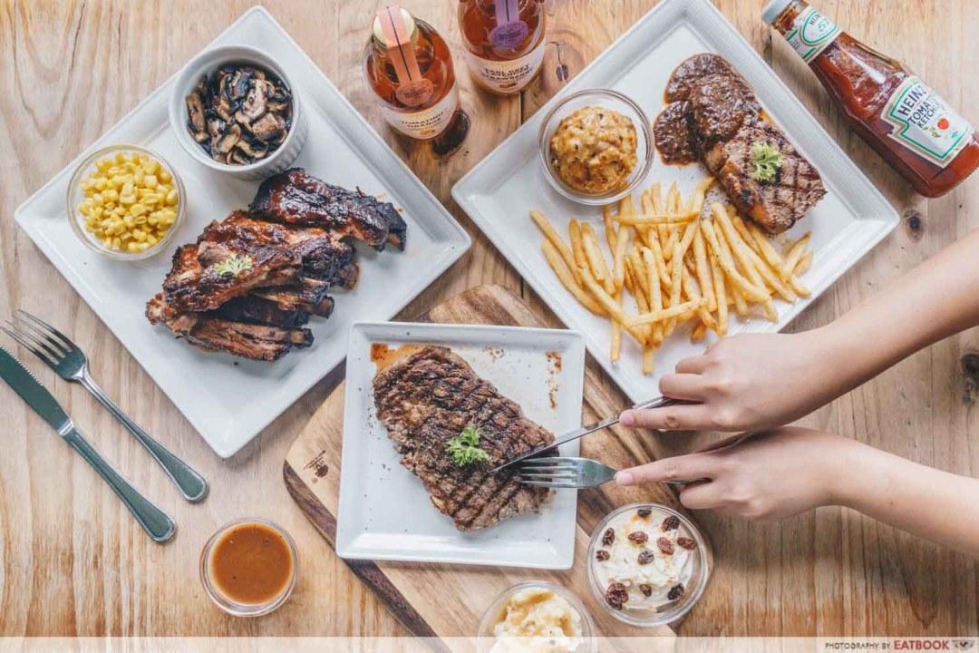 cheap steaks - Meat N' Chill Flatlay