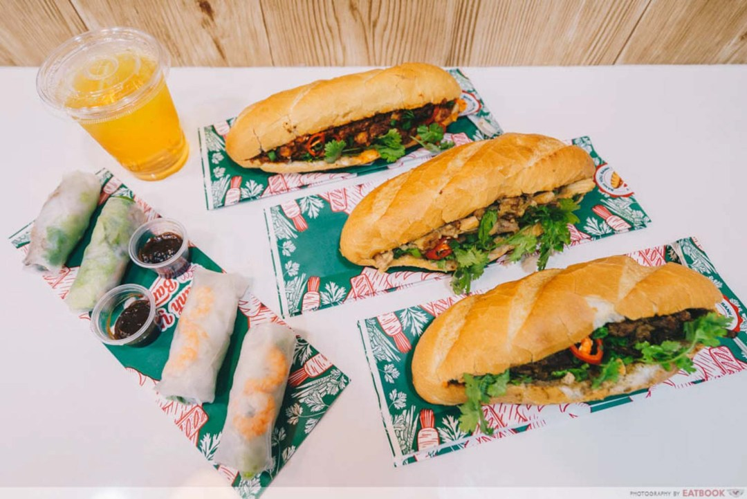 Banh You, Banh Mi -flatlay