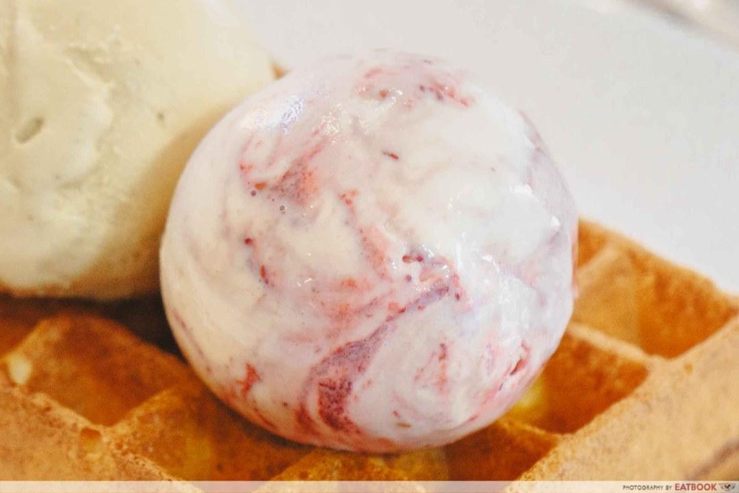 Denzy Gelato - Ruby Chocolate and Raspberries