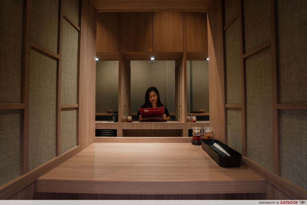 Private Ramen Booth in singapore