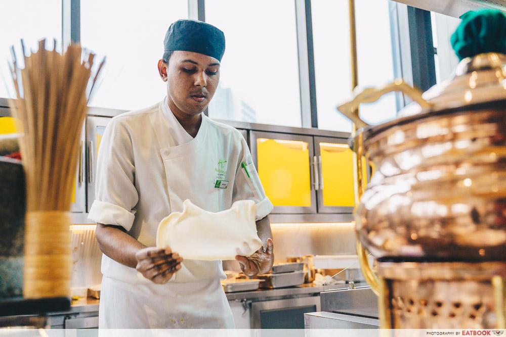 Holiday Inn Singapore Atrium Restaurant prata
