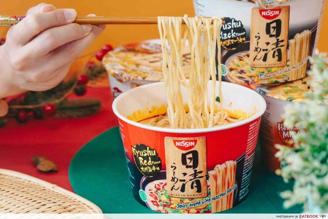 NISSIN RAMEN - Straight cut noodles
