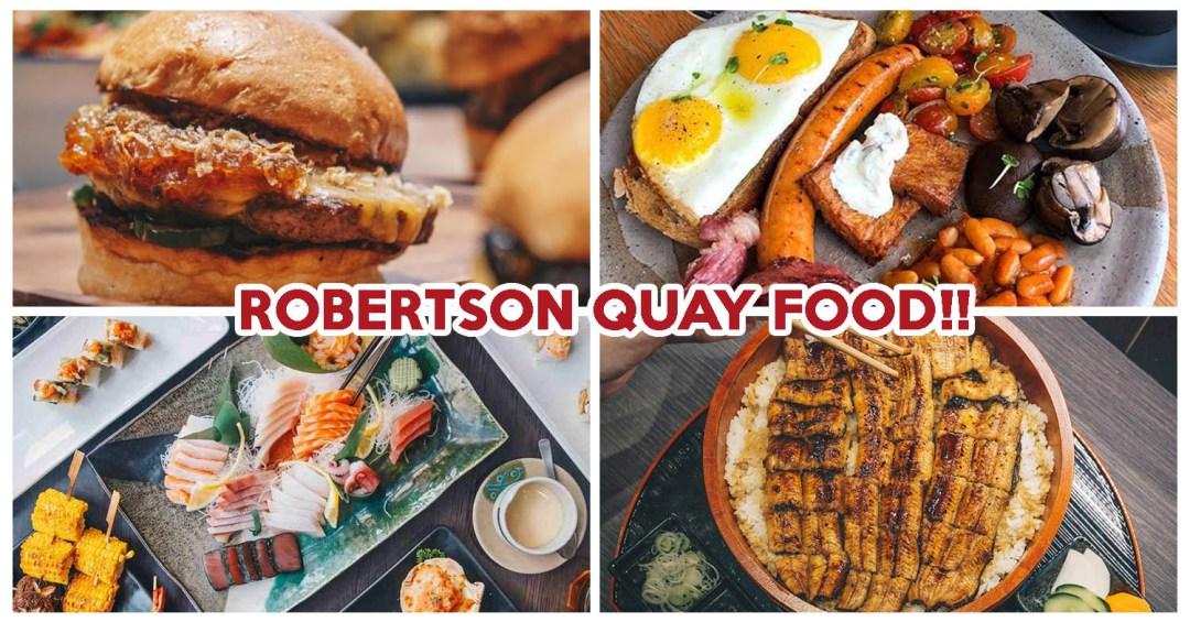 Robertson Quay food