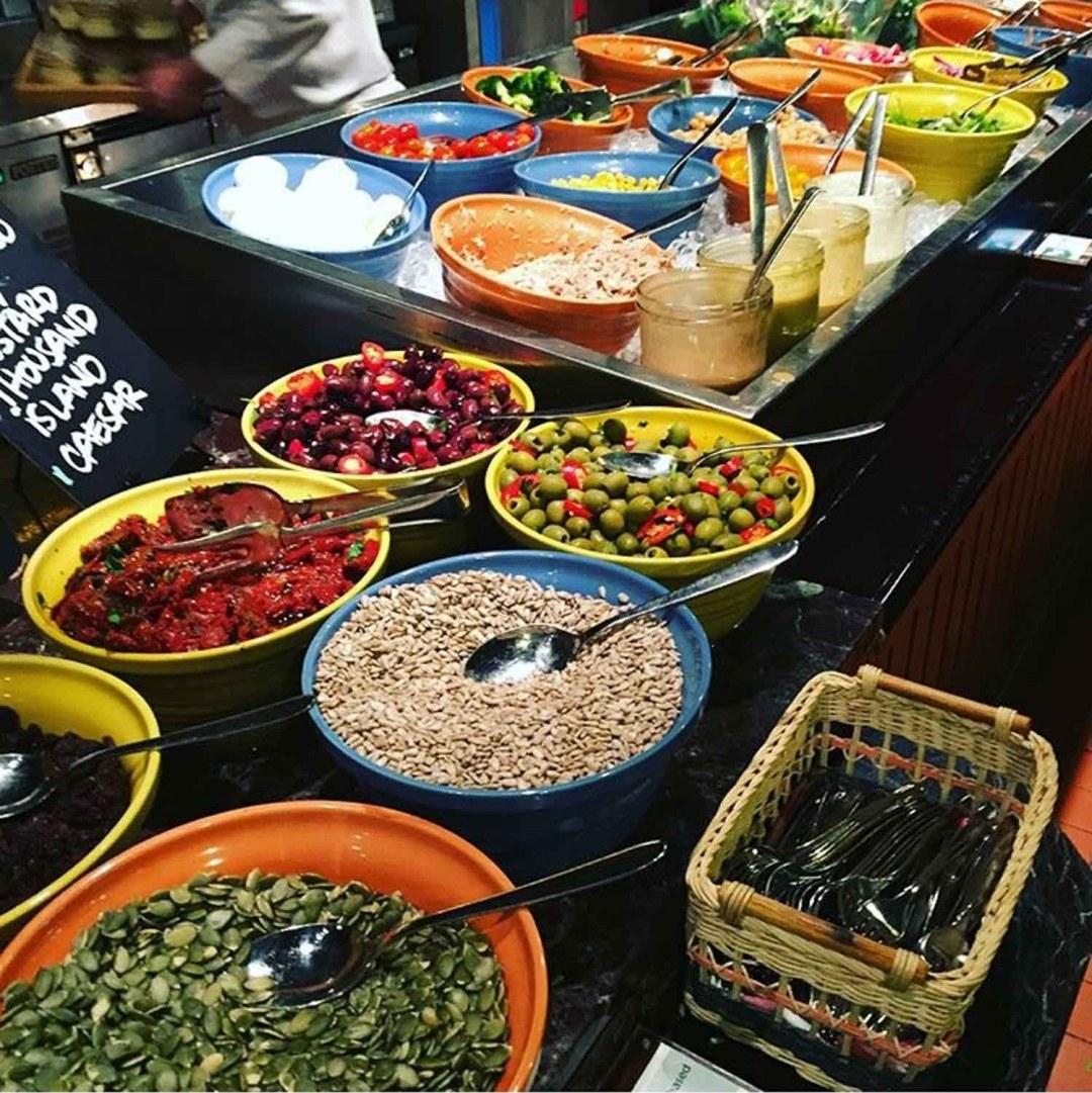 Salad Bar Buffets - Pete's Place Plant-Based Buffet