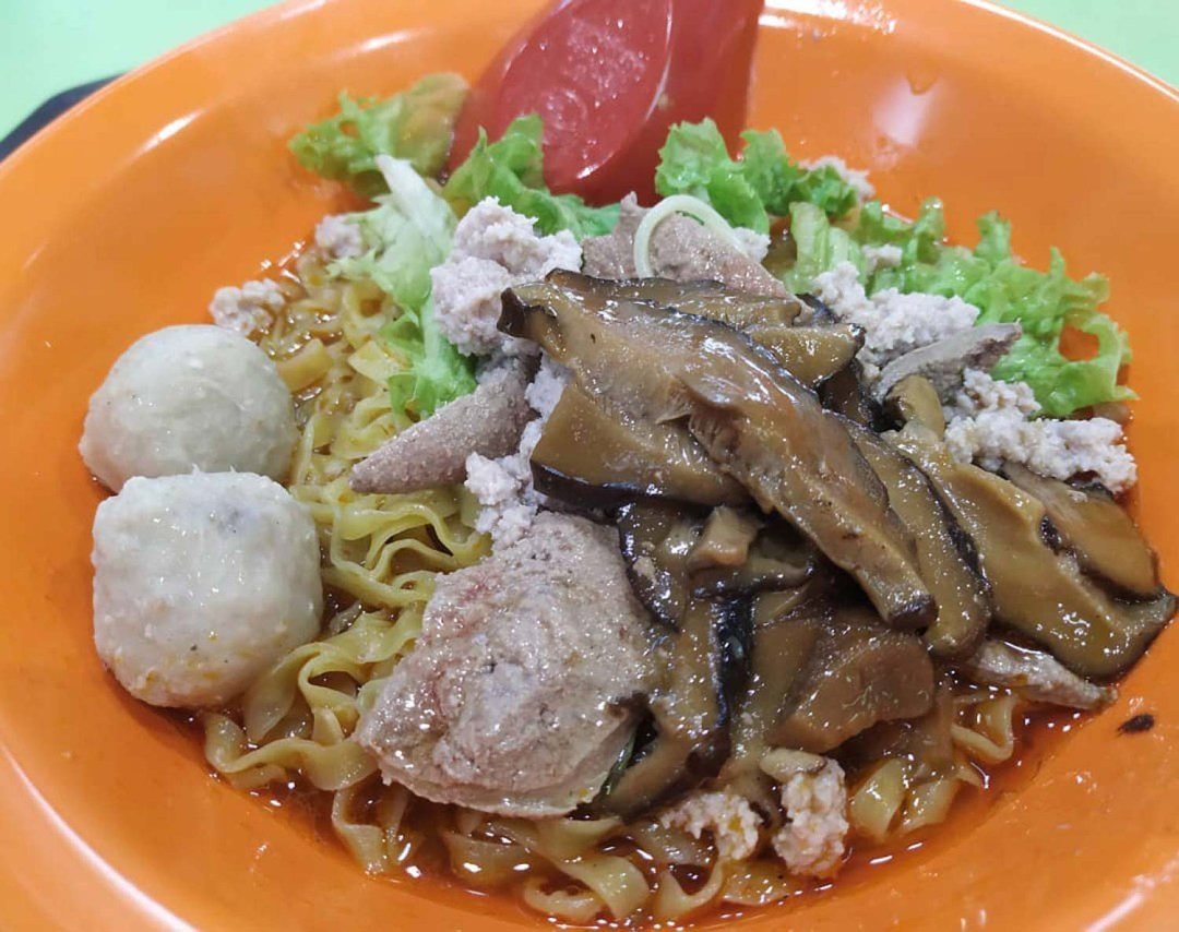 Tanjong Pagar Plaza - Blue Star Fishball Minced Meat Noodle