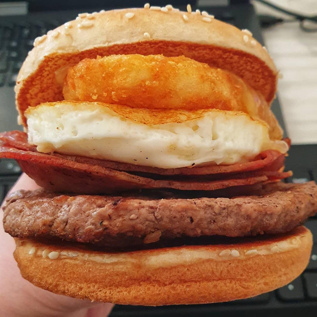 Big Brekkie Burger